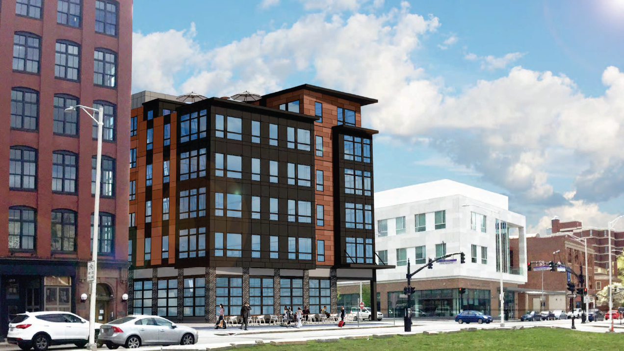 Chestnut commons residential development providence ri