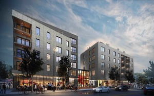 3200 washington street egleston square jamaica plain mixed use residential retail development berkeley investments rode architects