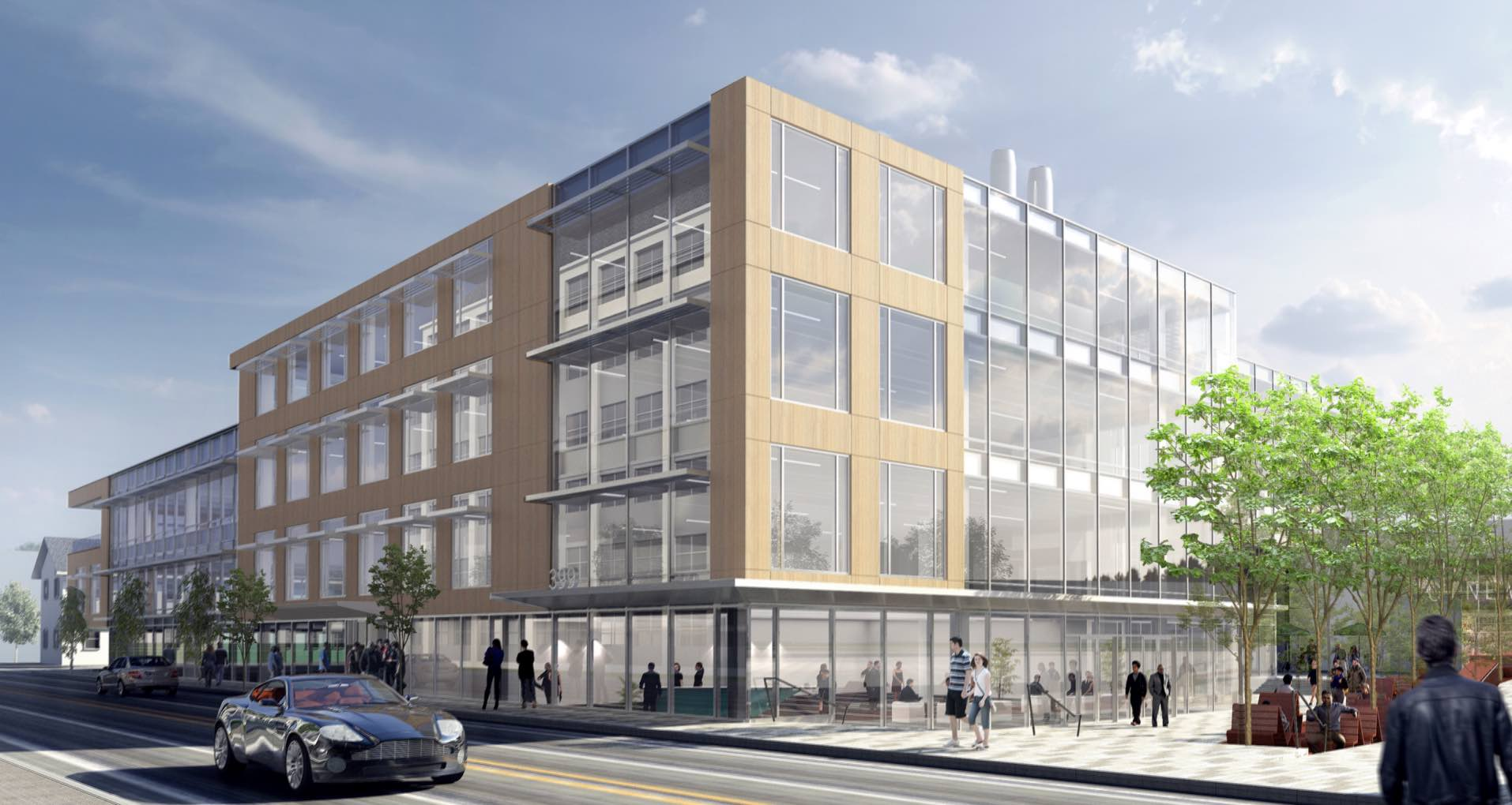 399 binney street kendall square cambridge office lab retail development alexandria real estate equities bargmann hendrie archetype