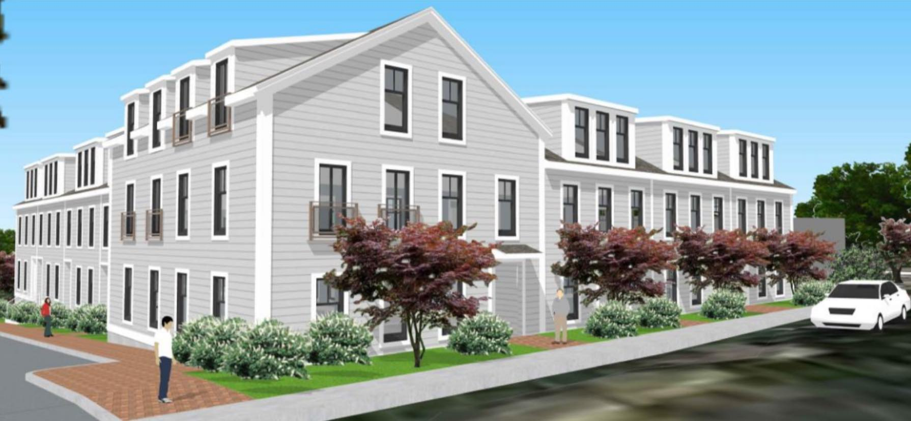 270 baker street residential development west roxbury boston