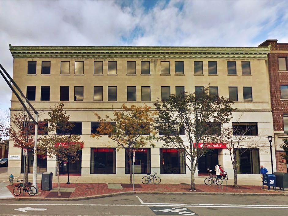 515 massachusetts avenue central square cambridge mixed use office retail building santander bank
