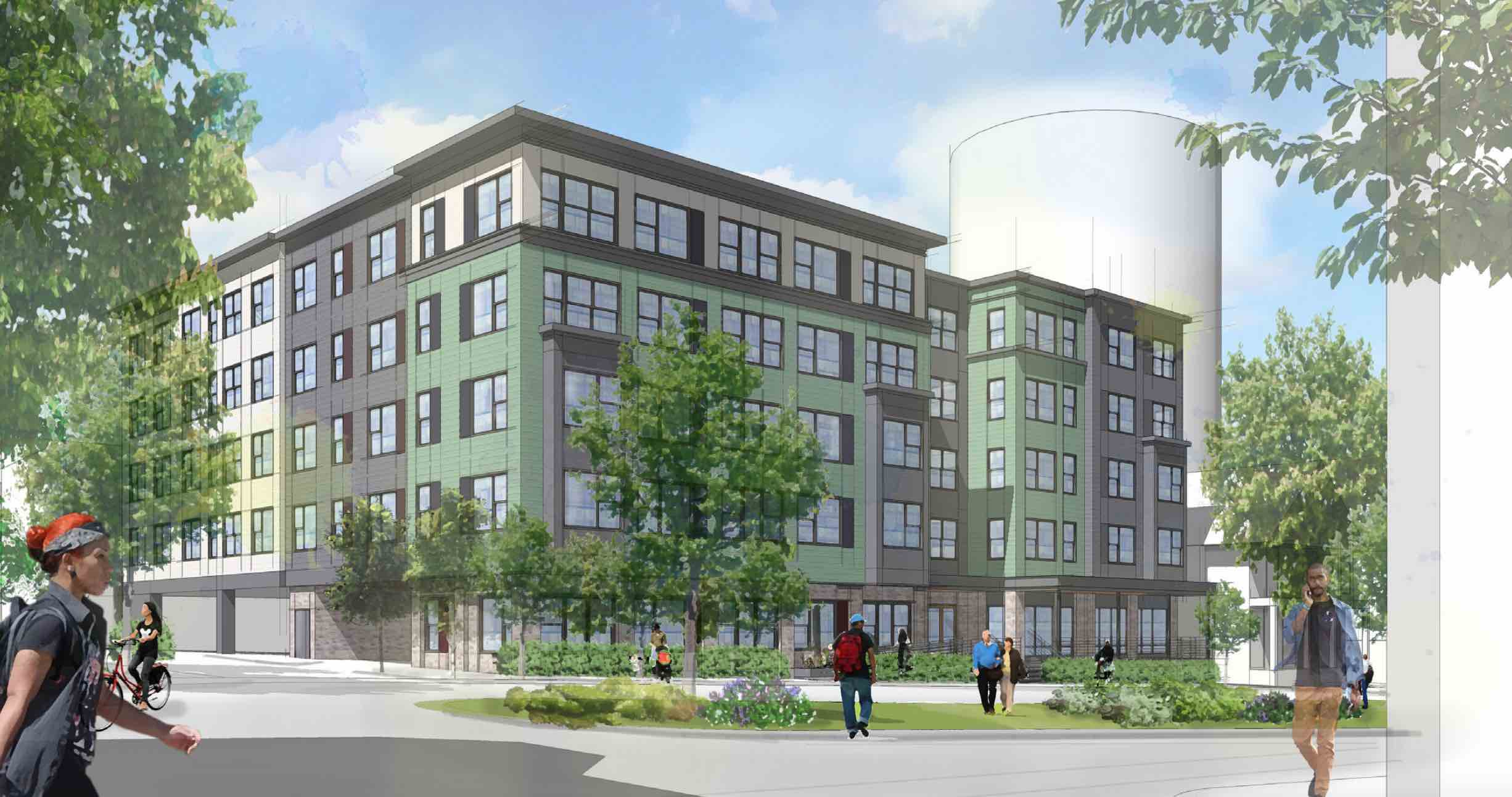 Great 41 51 Walnut Park Roxbury Boston Affordable Apartments Urban Edge Dream  Collaborative ...