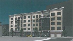 46 hichborn street brighton boston proposed condominium residential development mbta commuter rail boston landing