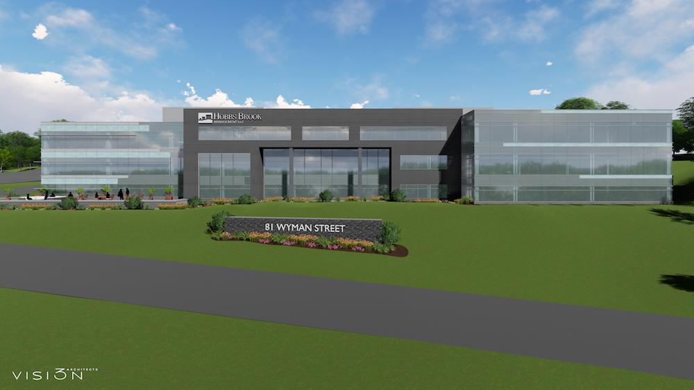 81 wyman street office space for lease waltham route 128 hobbs brook management vision 3 architects