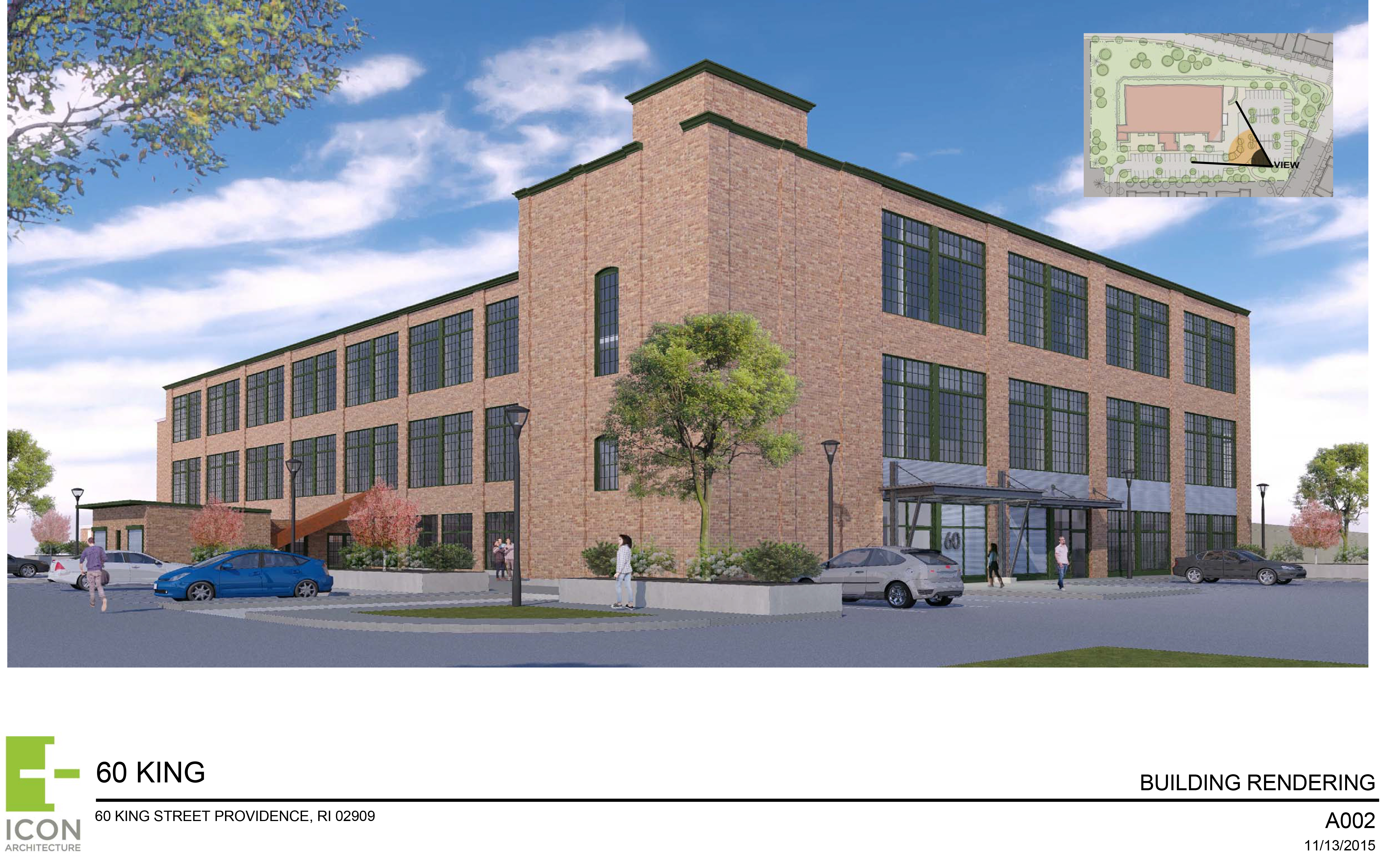 60 king site plan and rendering 2