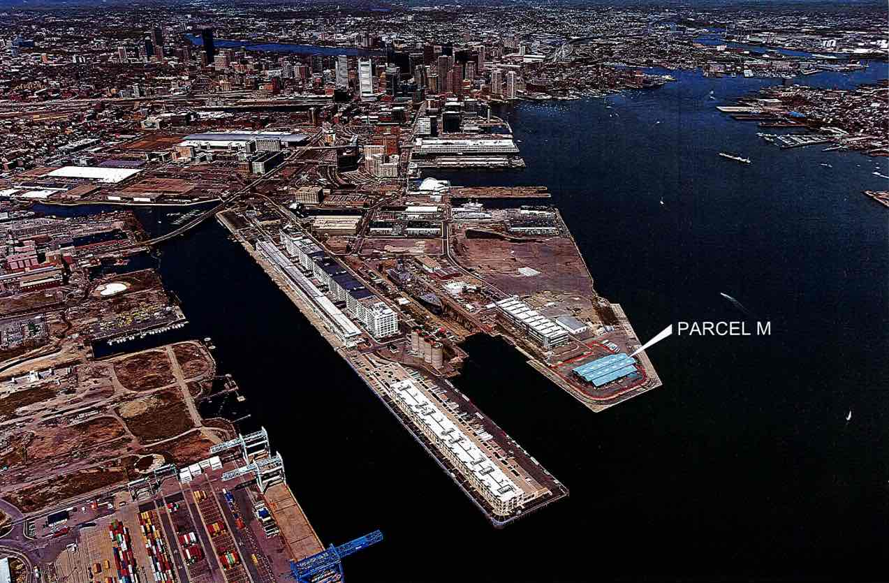 Parcel m 3 dolphin way boston marine industrial park seaport district boston global investors new boston food market proposed development