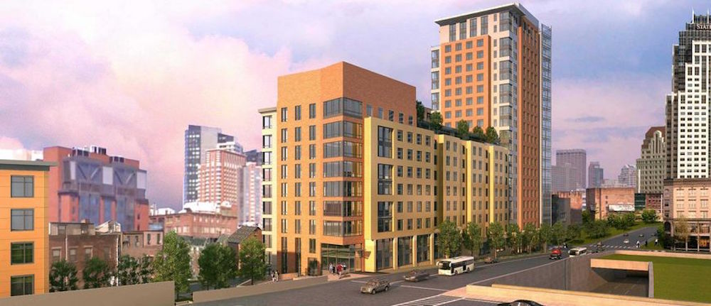 One greenway luxury affordable apartment condominium residential development boston chinatown new boston fund asian community development corporation