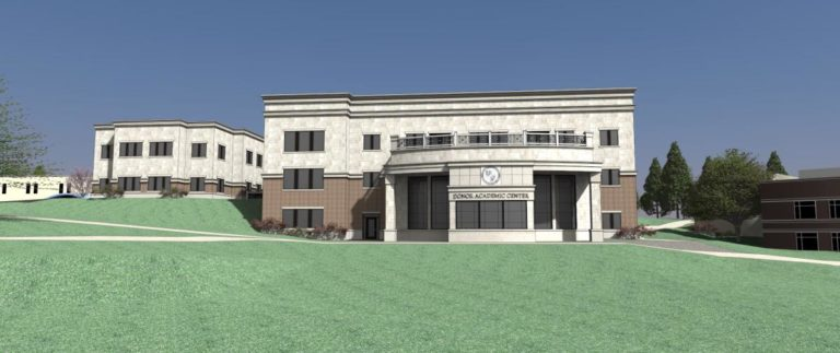 Assumption college new academic building 768x323