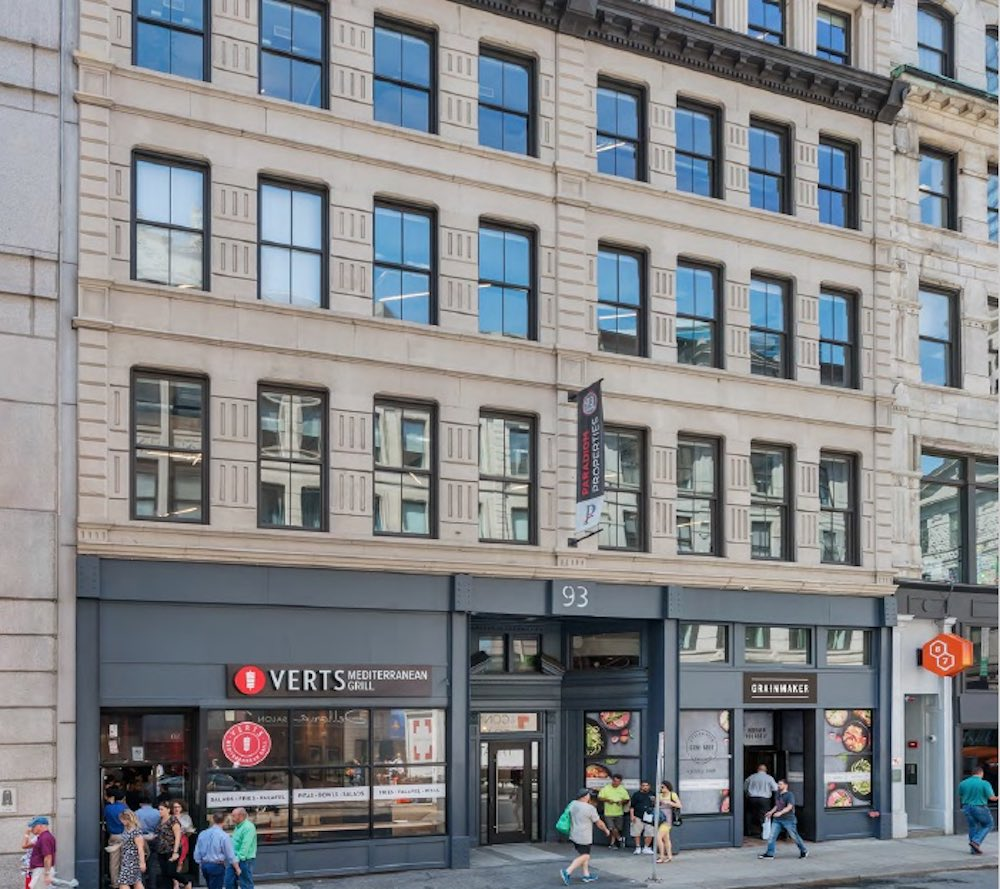 93 summer street downtown crossing boston office retail space for lease bentall kennedy sun life