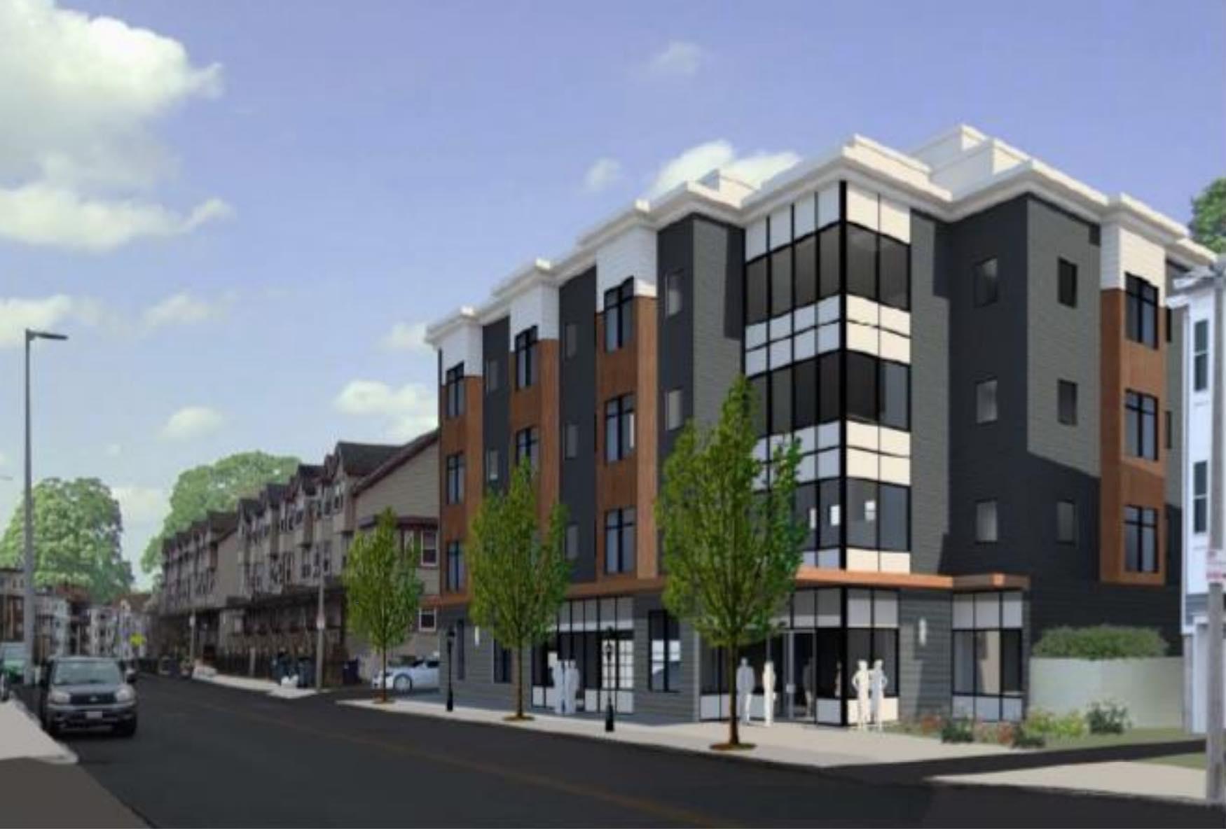 Bed rock geneva 185 191 geneva avenue dorchester boston proposed residential apartment development building project