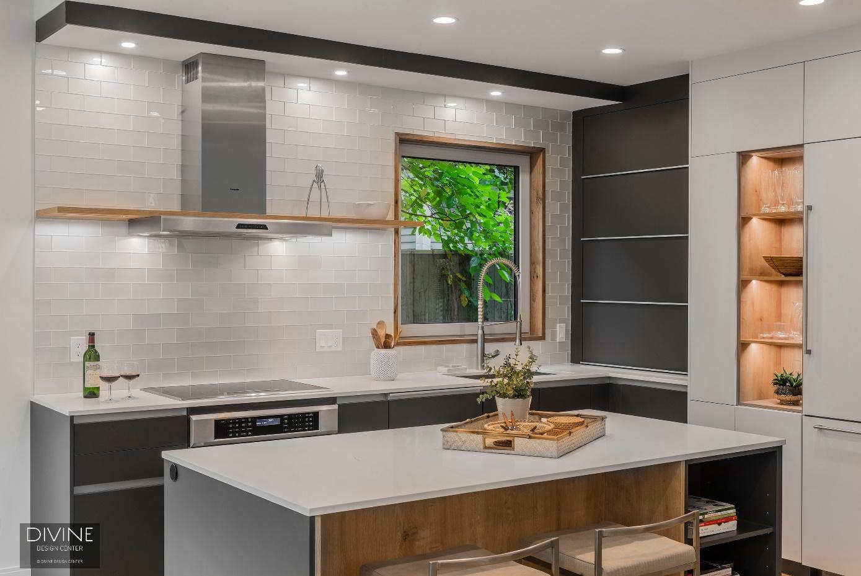 Bldup - Divine Design Center Creates Cutting-Edge Custom Kitchen at ...