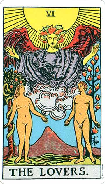 Tarot Card: The Lovers