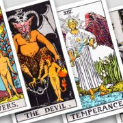 Tarot - The Lovers, The Devil, Temperance, Death