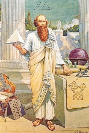 What is a Mystery School? Here is Pythagoras, leader of an ancient Greek Mystery School.
