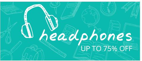 Headphone Sale