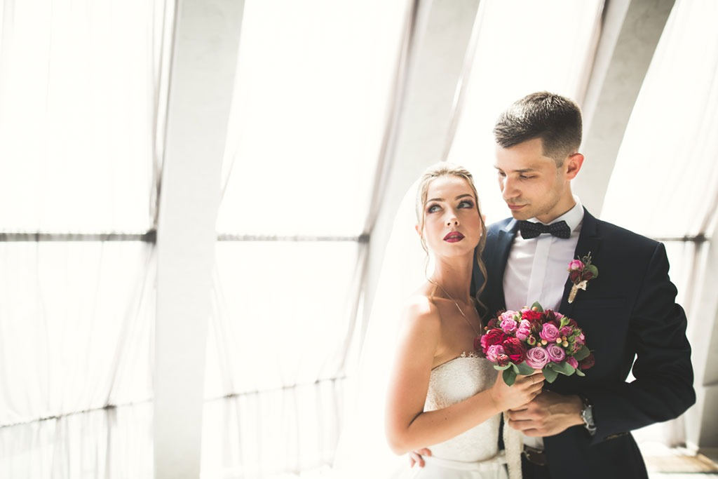 Wife and groom
