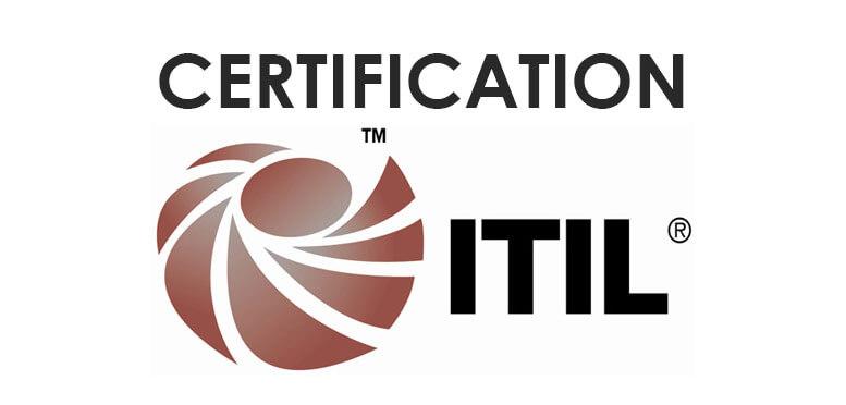 logo da certificação itil para profissionais de ti