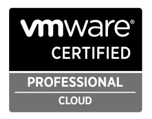 logo da certificação de ti vcp cloud