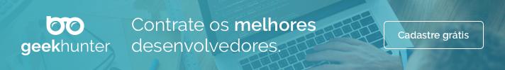 Contrate os Melhores desenvolvedores na GeekHunter