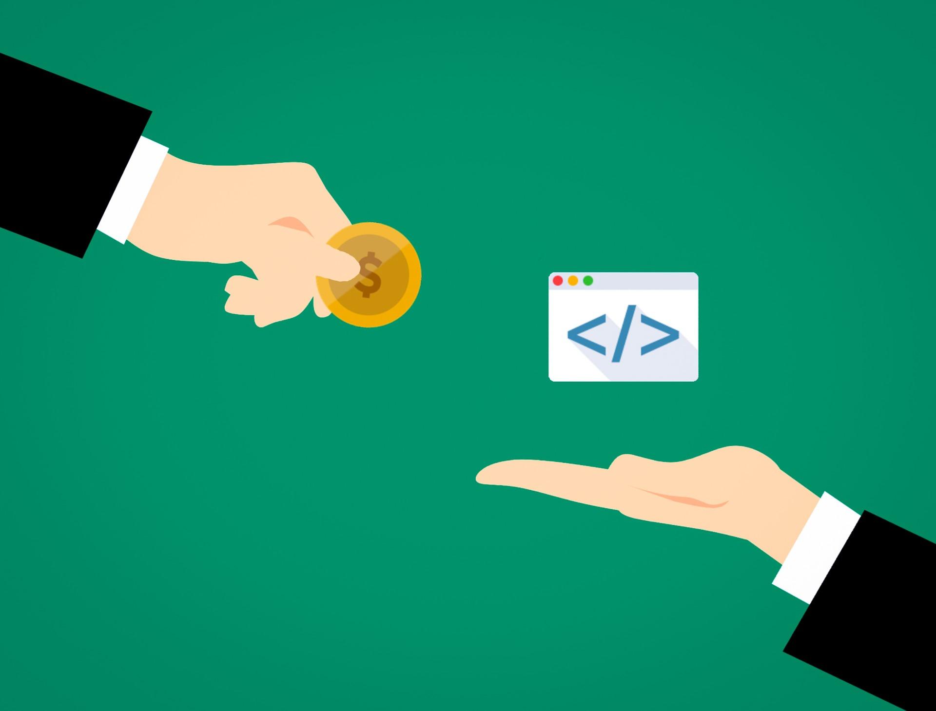 programador recebendo salário