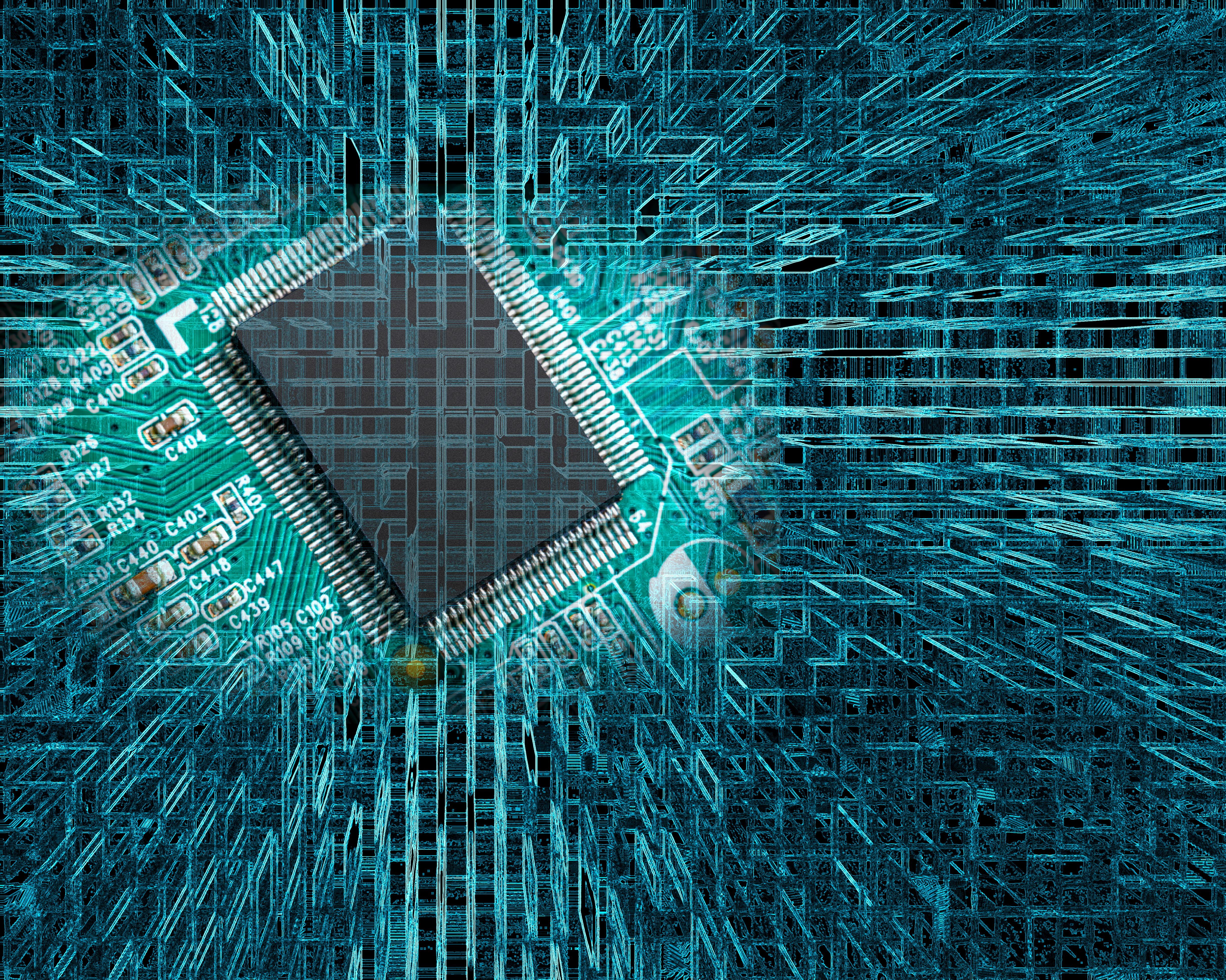 big data sendo tratado e organizado