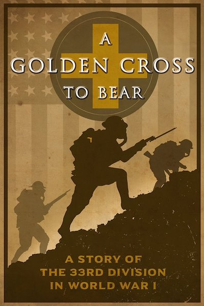 Poster from the documentary A Golden Cross to Bear