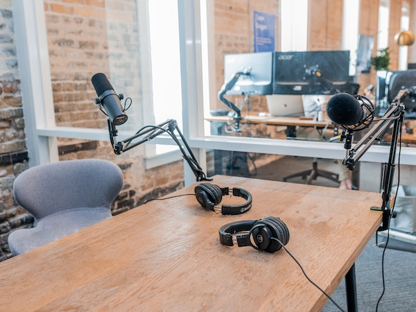 Podcast quality audio doesn't have to come from a studio