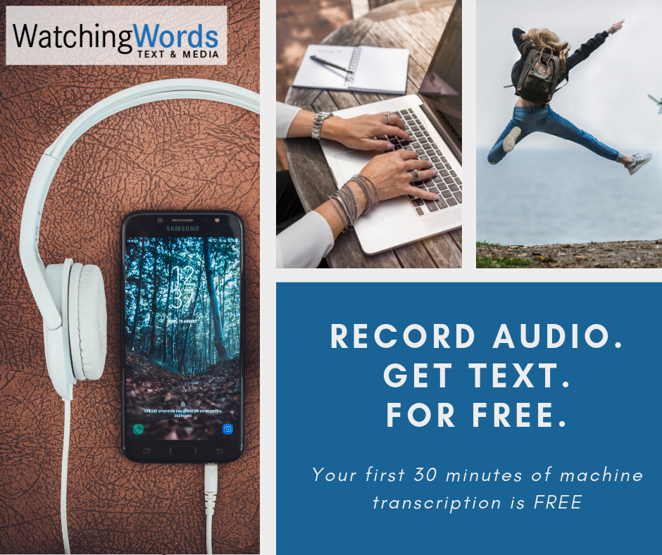 Record Audio, Get Text, For Free