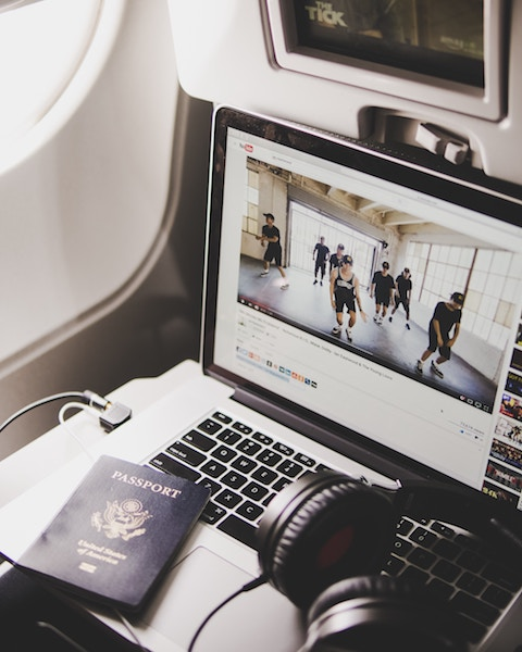 In-flight entertainment can be hard to hear, even with headphones