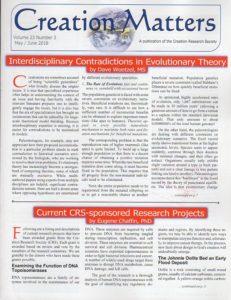 Creation Matters newsletter