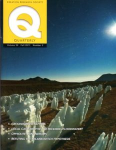 Creation Research Society Quarterly, Fall 2017