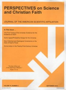 Perspectives on Science and Christian Faith, September 2018