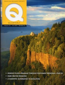 Creation Research Society Quarterly, Fall 2018