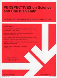 Perspectives on Science and Christian Faith, December 2019