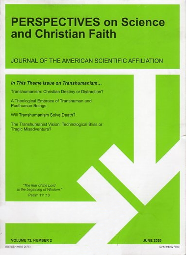 Perspectives on Science and Christian Faith, June 2020, Vol. 72 No. 2