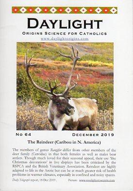 Daylight: Origins Science for Catholics, No. 64, December 2019