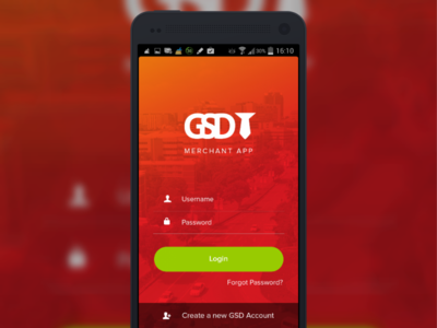 Android Login Screen by Kharisma Cendhika Putra