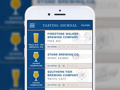 Firestone Walker App via Alex Sanders