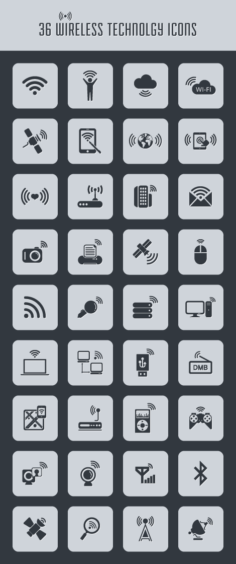 wireless-technology-icons