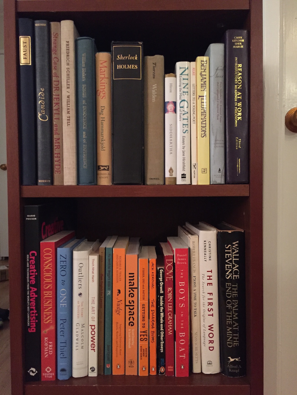 what s on your bookshelf part invision blog landen buckley head of product at storytree