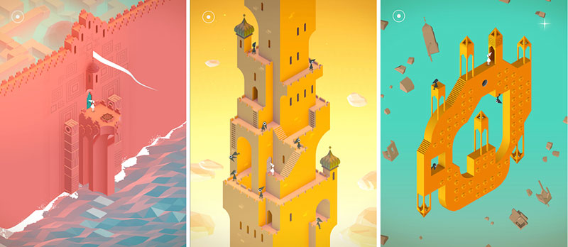 Monument Valley is designed to attract both traditional gamers as well as people who don't consider themselves gamers.