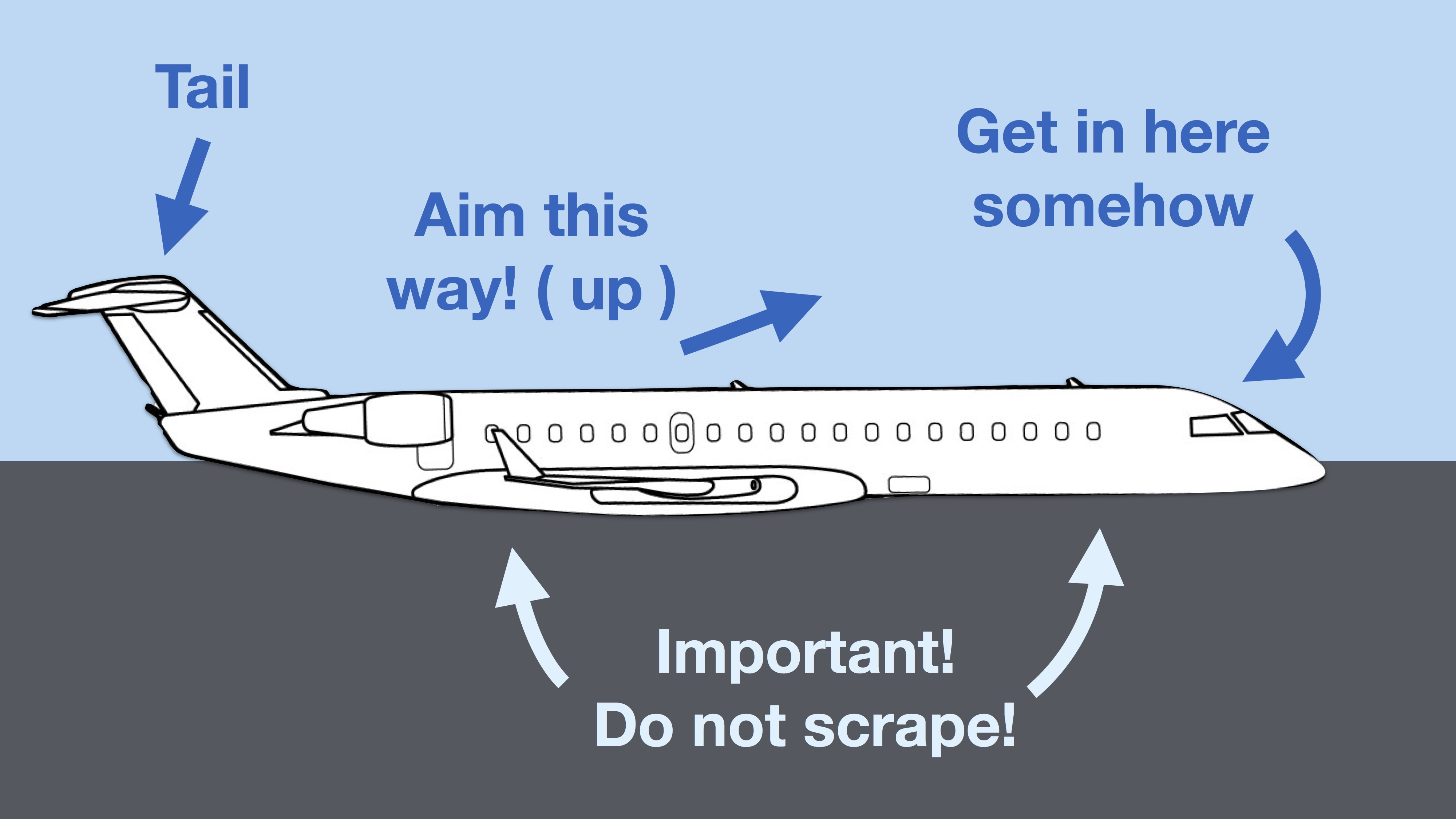 Plane-tool-tip