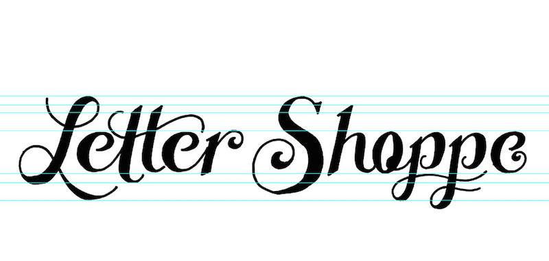 Creating A Hand Lettered Logo Design
