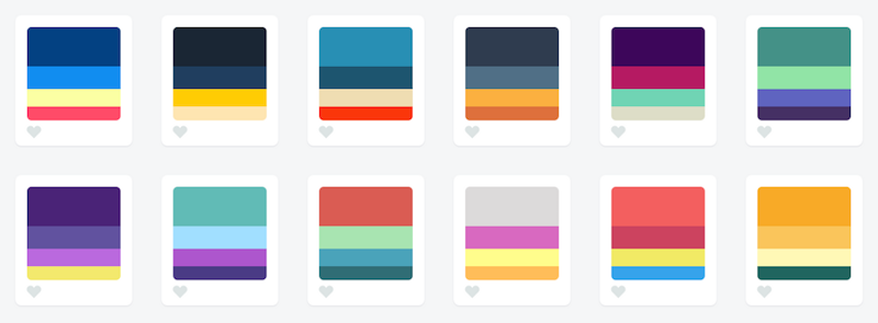 While Theyre Good Color Palettes They Arent Flexible Enough To Present Complex Data Series