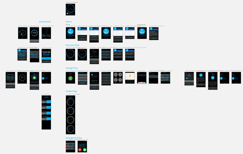 "I keep a ""Junk Drawer"" on the left side of my Sketch files to show iterations. This history can come in handy when showing work to clients and even your team."