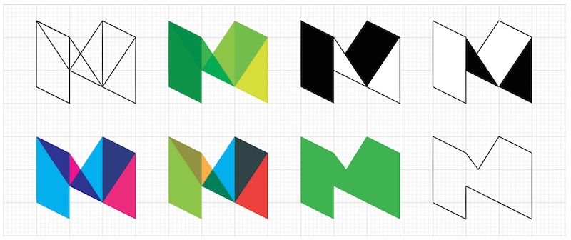 Medium shows off some potential logos styles.