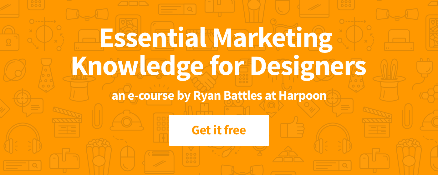 Free e-course—Marketing for Designers