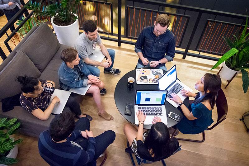 Image from Inside Design: WeWork.