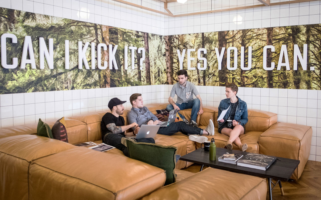 Image from Inside Design: WeWork.