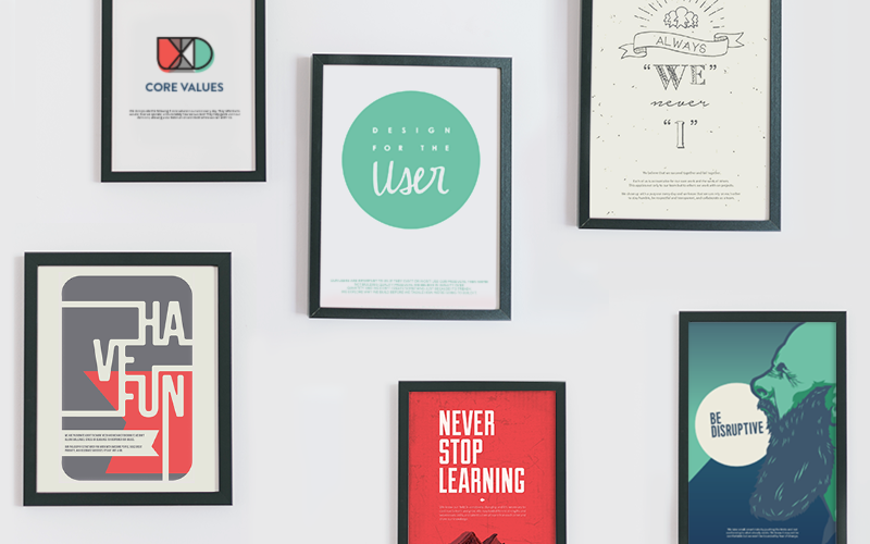core value posters